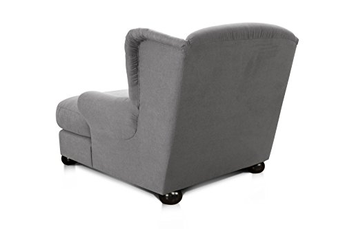 Cavadore 2271686 XXL-Sessel Love Seats  grau - 3