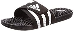 adidas Adissage, Unisex-Erwachsene Dusch- & Badeschuhe, Schwarz (Negro 000), 43 EU (9 UK)