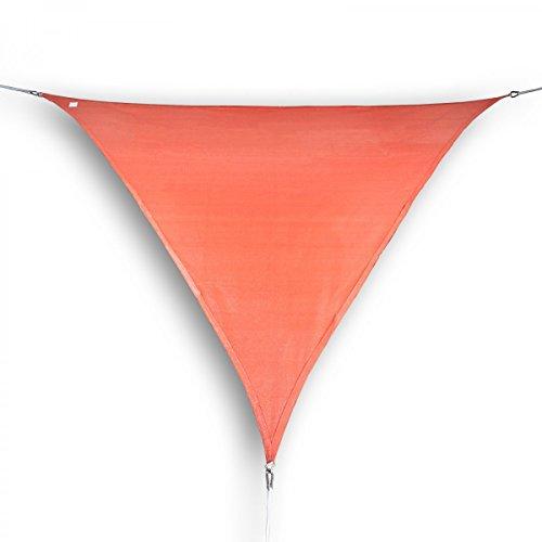 Unbekannt Marken Sonnensegel Sonnenschutz Dreieck Dreieckig 5x6x6 m Terra