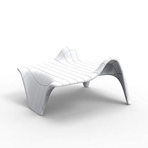 Vondom F3 Table Basse pour l'extérieur Blanche