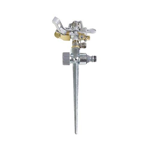 Xclou 346130 Arroseur-canon rotatif et sectoriel sur pic
