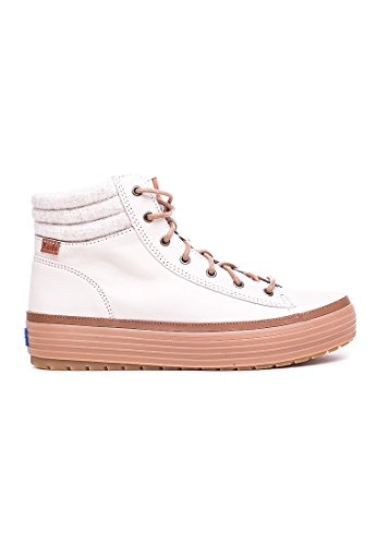 Keds Boots Women HIGH RISE WOOL LEA WH55803 Cream, Schuhgröße:36