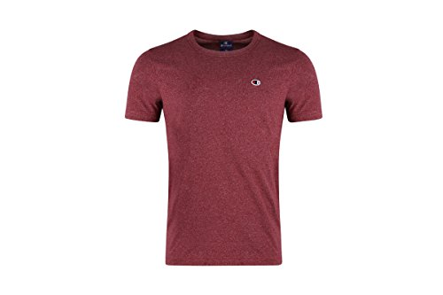 Champion T-Shirt Crewneck 210657, Größe:L, Farbe:Burgundy Marl (Crewneck Marl T-shirt)