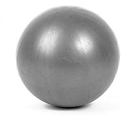 Mini Yoga Pilates Ball a prueba de explosiones Pvc Fitball Ejercicio Entrenamiento Gimnasio (gris)