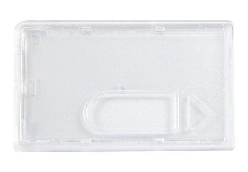 KARTENHÜLLE - BESONDERS STABILE AUSFÜHRUNG (5x Transparent)