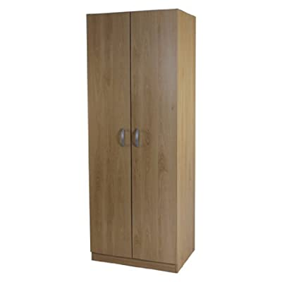 Wardrobe 2 Door Hanging Rail Beech Selby Bedroom Furniture