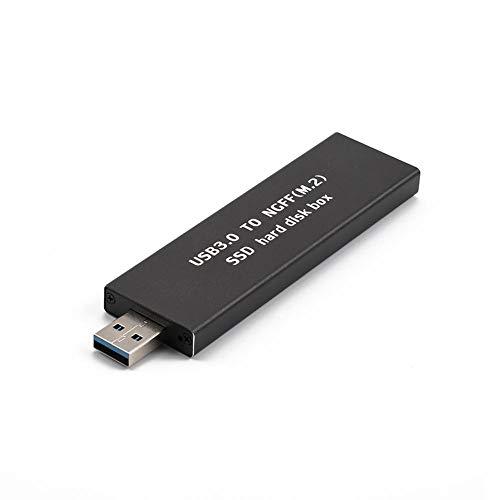 120gb Sata Mobile (Hillrong USB 3.0 auf M.2 Ngff SD High Speed Festplatte SD Mobile SATA Mobile schwarz Schwarz 120GB)