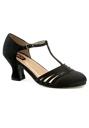 Ellie Shoes Lucille Flapper Fancy Dress Costume Heels Size 9 Heel Strappy Sandal