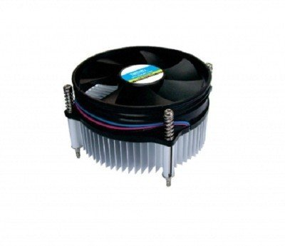 eErlik Cpu Cooling Fan For Socket LGA 775 Cooler (orange and black) (black)  available at amazon for Rs.299