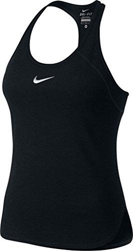 Nike W Nk Dry Tank Slam Camiseta, Mujer, Negro / Blanco (Black / Black / White), S