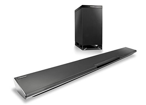 Panasonic-SC-HTB485EGK-21-Soundbar-System-mit-kabellosem-Subwoofer-Bluetooth-NFC-HDMI-in-HDMI-out-mit-ARC-optischer-Eingang-250-Watt-RMS-schwarz