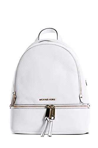 Michael Kors - Bolso mochila para mujer Blanco blanco, blanco (Blanco) - 30S5GEZB1LOPTICWHITE