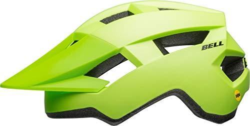 Bell Unisex Juventud Spark Junior MIPS - Casco de Bicicleta Mate/Verde Brillante/Negro Uni Youth
