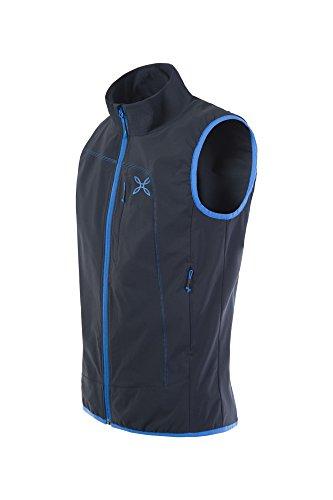 Montura Run Power Vest| černá/modrá M