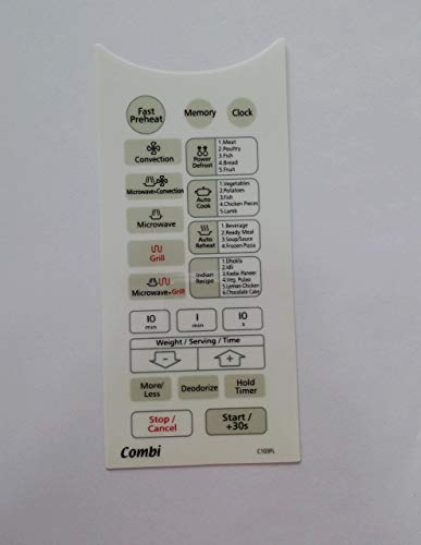 Able Microwave Oven Membrane Keypad Model No - C103FL (White)