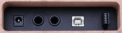 Classic Cantabile DP-50 WM E-Piano SET (Digitalpiano mit Hammermechanik, 88 Tasten, 2 Anschlüsse für Kopfhörer, USB, LED, 3 Pedale, Piano für Anfänger, Pianobank, Kopfhörer, Klavierschule) weiß matt - 7