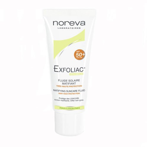 Exfoliac SPF 50+ Mattifying Sun Fluid 40ml