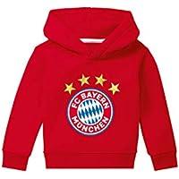 FC Bayern München Hoodie Logo rot Kleinkinder, Kapuzenpullover Kids