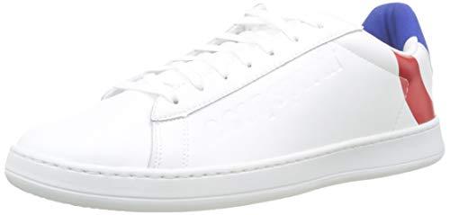 Le Coq Sportif Break COCARDE, Zapatillas Unisex Adulto, Blanco (Optical White/Tricolore Optical...