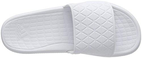 Adidas AQ5911, Pantofole Estive Uomo Bianco (Ftwbla / Negbas / Ftwbla)