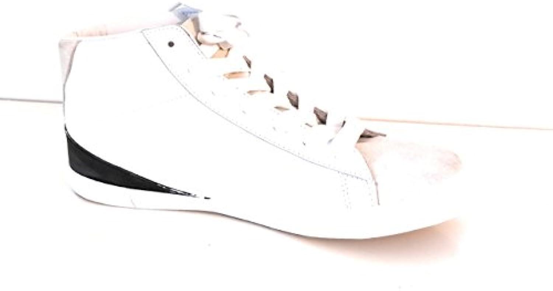 Neuf Cuir 44 Sandro Blanc Homme Baseball Size Chaussure zRqaUR