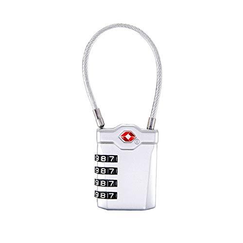Semine Mini Passwortsperre Langlebig für Schließfach Reisekoffer Schrank Gepäcktasche -