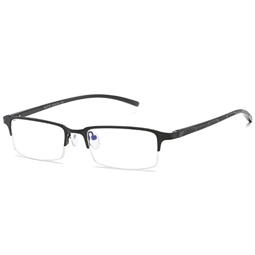 CVOO New Eyeglasses Man Glasses Frame For Myopia Eye Glasses Plain Mirror Vintage Black Spectacles