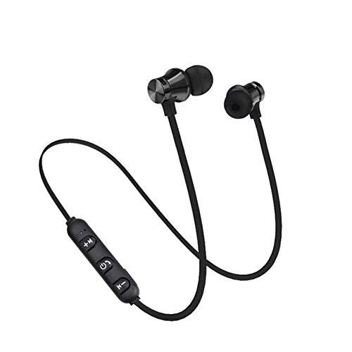 XSWZAQ Los Auriculares magnéticos de los Deportes Bluetooth se doblan en la Oreja la máquina magnética del Interruptor Que cuelga los Auriculares magnéticos de los Deportes del Cuello