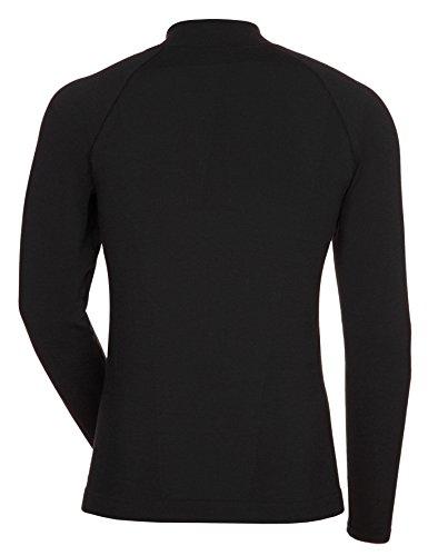 VAUDE Herren T Shirt Seamless Long Sleeve Black