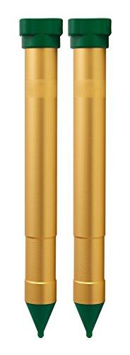 Gardigo Maulwurfvertreiber Vibrasonic 2er Set | Maulwurfabwehr mit Vibrations-Motor | Maulwurfschreck, Batteriebetrieben | Wühlmausvertreiber und...