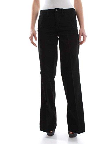 G-STAR D03568 6960 BRONSON HIGH BLACK PANTALONE Donna BLACK 28