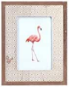 Art Deco Home - Marco de Fotos 10x10 cm Flamingo - 15044SG