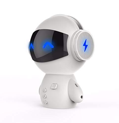 Lecc Altavoz Bluetooth Estéreo Mini Robot Altavoz Altavoz Inalámbrico Bluetooth Portátil Compatible...