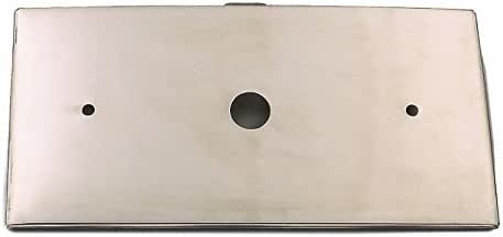 Multicolore AcquaStiLLa 101103 Piastra in Acciaio per Cassetta WC