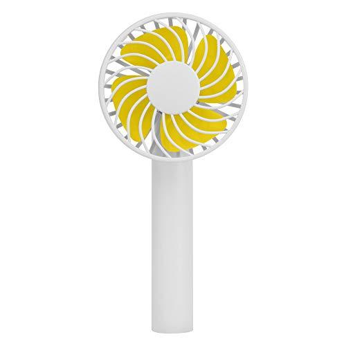 OPAKY Kein Sockel-Handheld-USB-Ventilator Persönliche Kühlung wiederaufladbar, tragbar,Perfekter persönlicher Fan, Desktop-Fan -