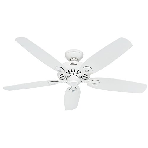 Hunter Fan 50565 Builder Elite Ventilateur de plafond 132 cm Blanc