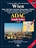 Wien: 1:20.000, Baden, Bad Vöslau, Eisenstadt, Klosterneuburg, Mödling, Neunkirchen, Stockerau,