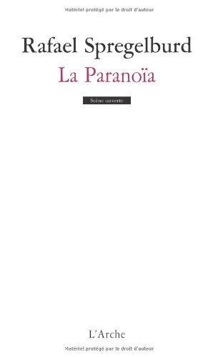 Livres gratuits La Paranoïa pdf