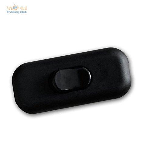 Schnurschalter, Zwischenschalter schwarz 2A/230V
