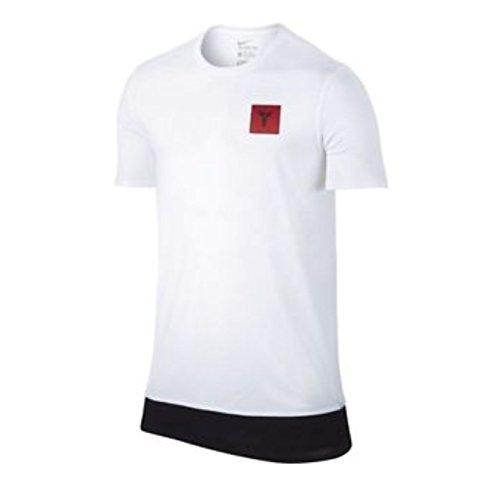 Nike S + KB11. SU4-T-Shirt der Linie Kobe Bryant für Herren M Weiß (White)