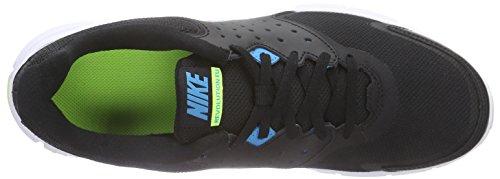Nike Revolution Eu, Scarpe sportive, Uomo Black/Blue Lagoon-Volt-White
