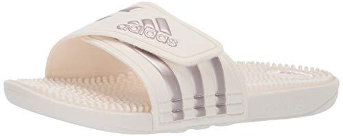 info for 059d9 550e5 adidas Originals - Adissage Donna, Bianco (Cloud WhiteVapour Grey  MetallicCloud