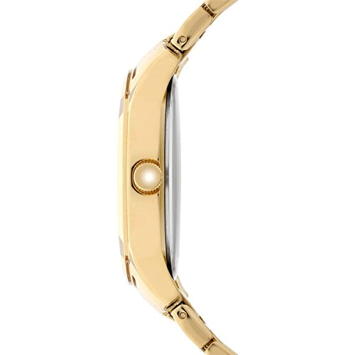 Esprit Women's Julia Gold Quartz Watch with Rose Gold Analogue Display and Rose Gold Stainless Steel Strap