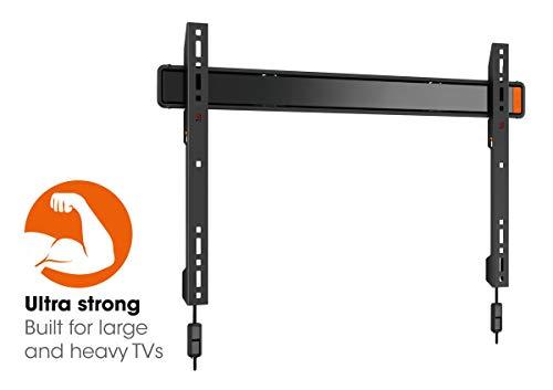 Vogel's WALL 3305 Ultrastarke TV-Wandhalterung für besonders größe (102-254 cm, 40-100 Zoll) oder schwere (max. 80 kg) Fernseher, starr, VESA max. 600 x 400 mm, schwarz 40 Zoll Bravia Lcd-hdtv