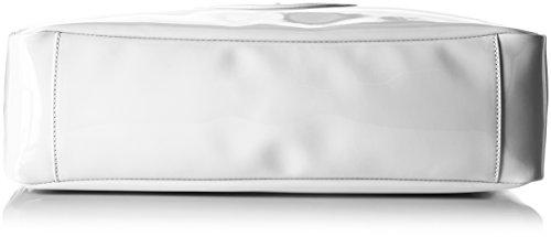 Armani Jeans Damen 922591cc855 Henkeltaschen, 14 x 26 x 40 cm Weiß (BIANCO 00010)