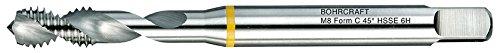 Bohrcraft 41490300600 Grad BOC-41490300600 Machinen-Gewindebohrer Gelbring DIN 371 HSS-E ALU, M 6 Form C/RSP 45 Split-Pack, 1 Stück, 1 V