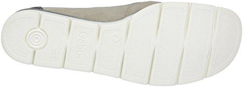 Gabor Shoes Comfort, Mocassini Donna Grigio (grau/silber 49)