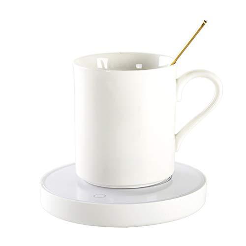 Yuciya USB Kaffeetasse Wärmer Untersetzer, Elektrische Schalen Heizung Milch Tee Getränk Heizplatte für Büro Hauptschreibtisch Gebrauch