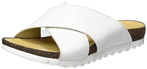 Andrea Conti 1673409, Mules Femme Weiß (Weiß)