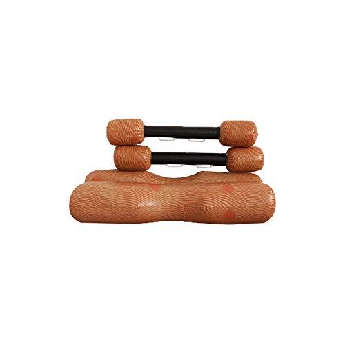 Log-pool (cdzhouji Aufblasbare Log Flume Joust Set Aufblasbare Schwimm Reihe Spielzeug Wasserspielzeug Bequeme Armlehne Entwurf für Sommer-Pool-Parties 4Pcs)